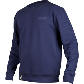 POC Longsleeve Crew Top Heren, navy blue